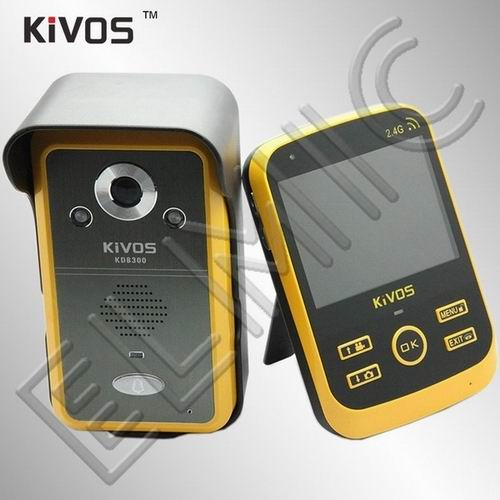 Wideodomofon bezprzewodowy ELMIC KIVOS KDB300 - zestaw podstawowy - 1 kamera + 1 monitor