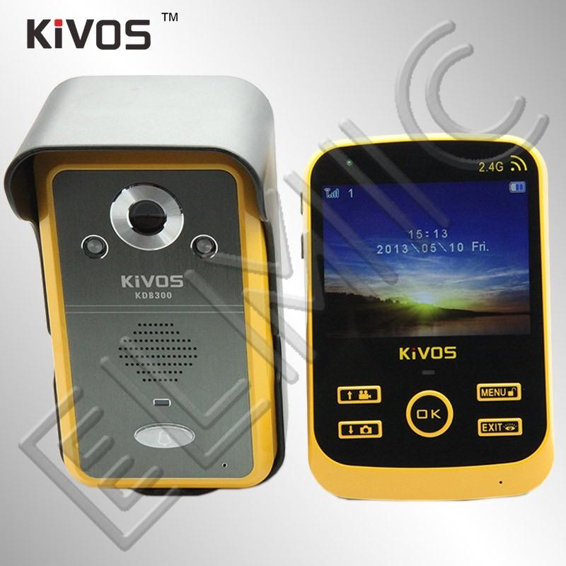 Wideo domofon wideodomofon bezprzewodowy ELMIC KIVOS KDB300 - zestaw