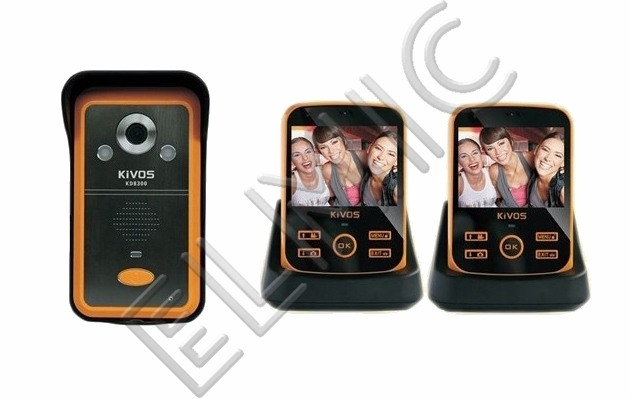Video door phone ELMIC KIVOS KDB 301 KDB301-1-2