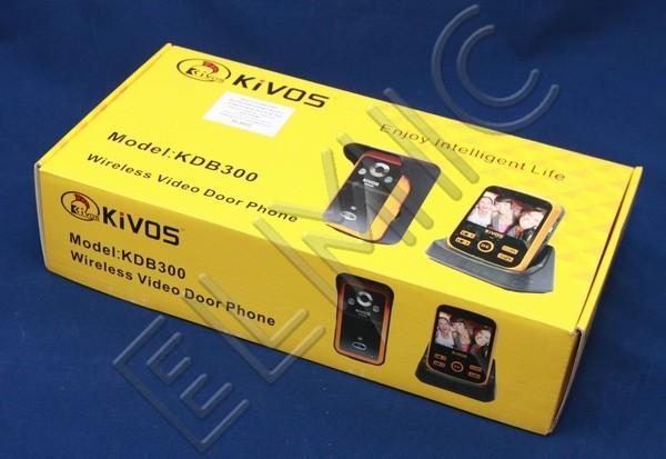 Wideo domofon bezprzewodowy ELMIC KIVOS KDB 300 - opakowanie  - zestaw KDB300-1-1