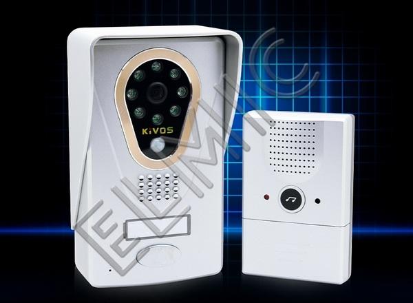 ELMIC - IMPORT - DYSTRYBUCJA - HURT - DETAL - wideodomofon bezprzewodowy WiFi LAN IP ELMIC KIVOS KDB400