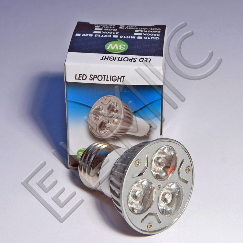 Żarówka LED XH008 ELMIC 3W E27 opakowanie