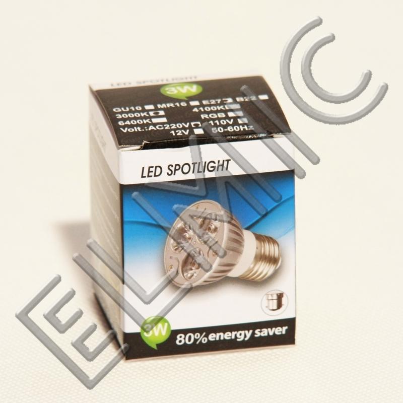Żarówka LED XH008 ELMIC 3W E14