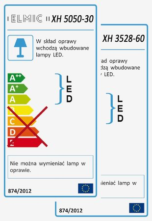 ENERGY LABEL XH 6043 12W