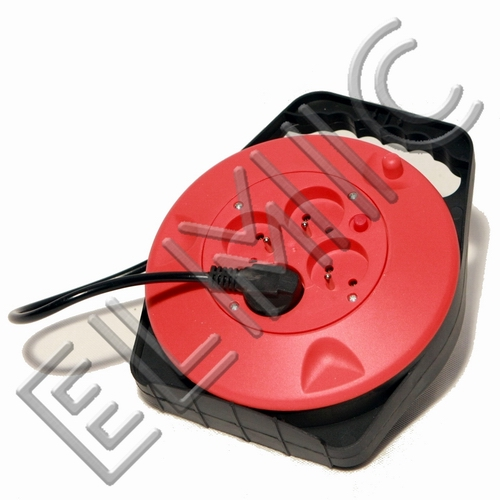 Przedłużacz elektryczny zwijany bębnowy 4 gniazda WSDT12 ELMIC