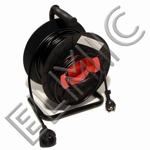 Przedłużacz elektryczny zwijany bębnowy profesjonalny ELMIC WSDT20