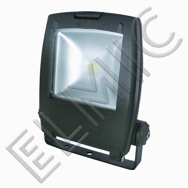 ELMIC Floodlight LED BERGMEN SVART