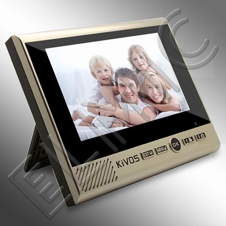 ELMIC - IMPORT - DYSTRYBUCJA - HURT - DETAL - wideodomofon bezprzewodowy ELMIC KIVOS KDB700mk2