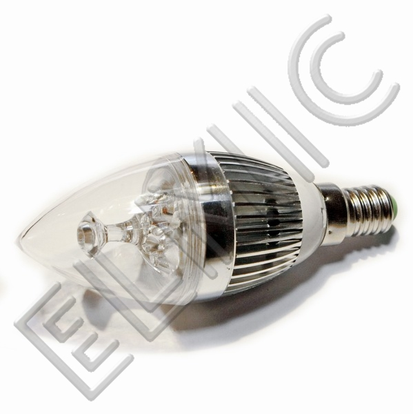 Żarówka świecowa LED XH003 ELMIC 3W E14 ŚWIECA