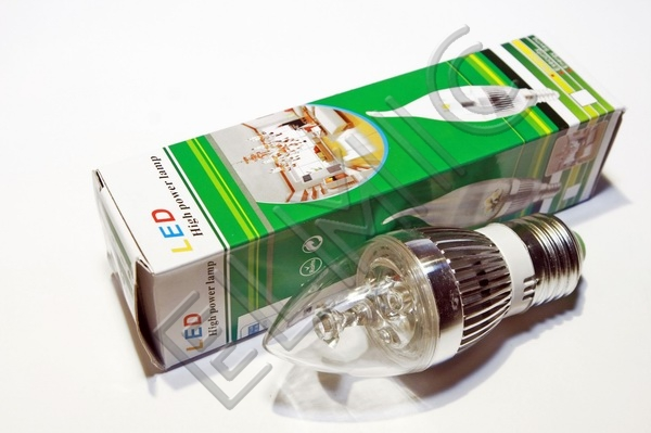 Żarówka świecowa LED XH003 ELMIC 3W E27 ŚWIECA