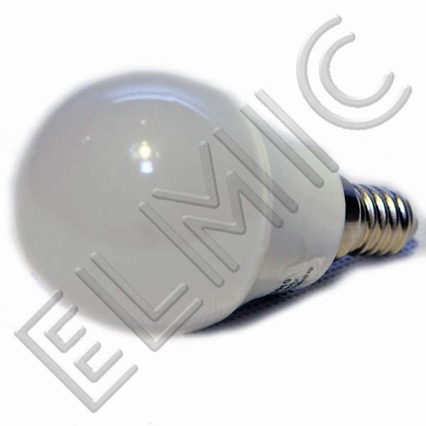 Żarówka LED XH6040 ELMIC 3W E14 mała kulka