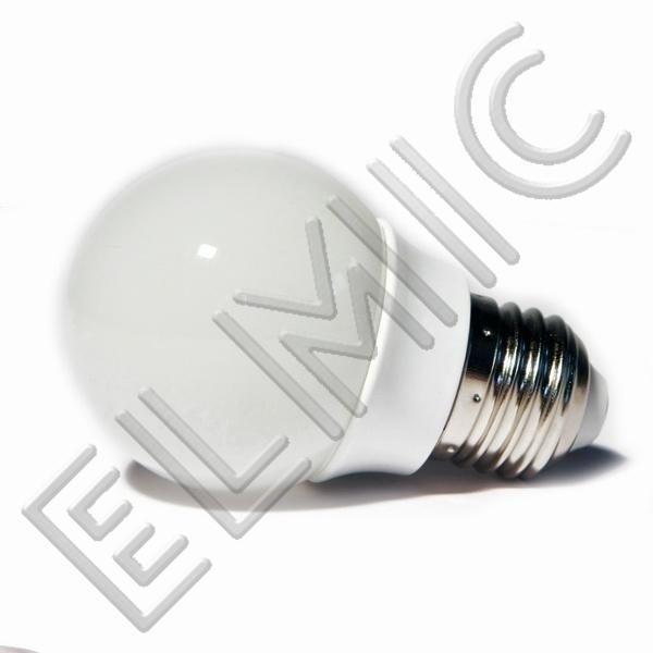 Żarówka LED XH6040 ELMIC 3W E27 mała kulka