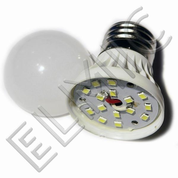 Żarówka LED XH6043 ELMIC 3W E27 - szczegóły budowy żarówki