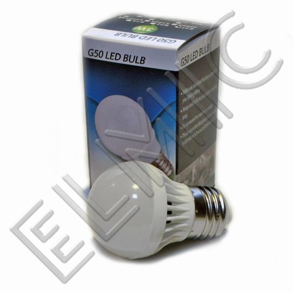 Żarówka LED XH6043 ELMIC 3W E27 - opakowanie
