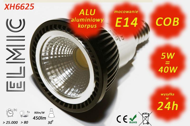 Żarówka ELMIC XH 6625 E14 5W
