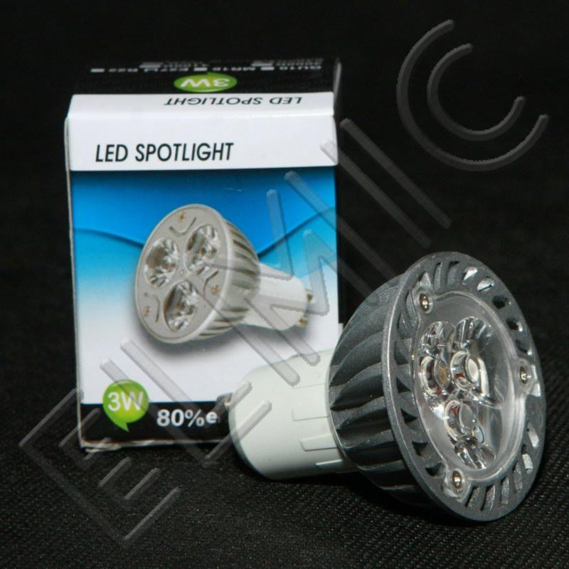 Żarówka reflektor ELMIC LED XH6628 3W GU10 - zamiennik żarówki halogenowej