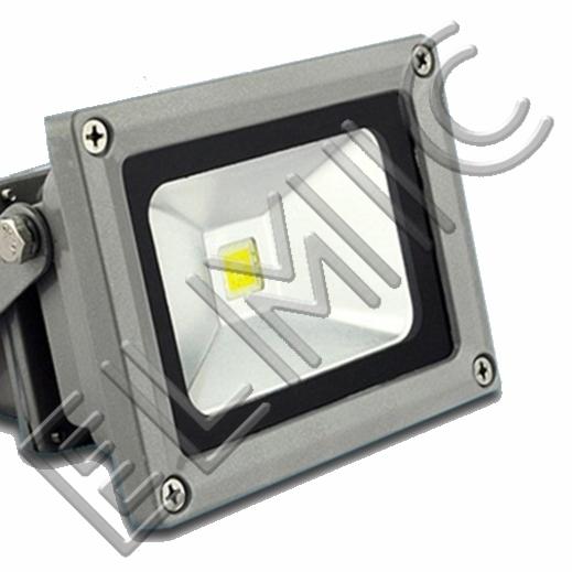 Naświetlacz LED ELMIC XHF 10W z uchwytem montażowym