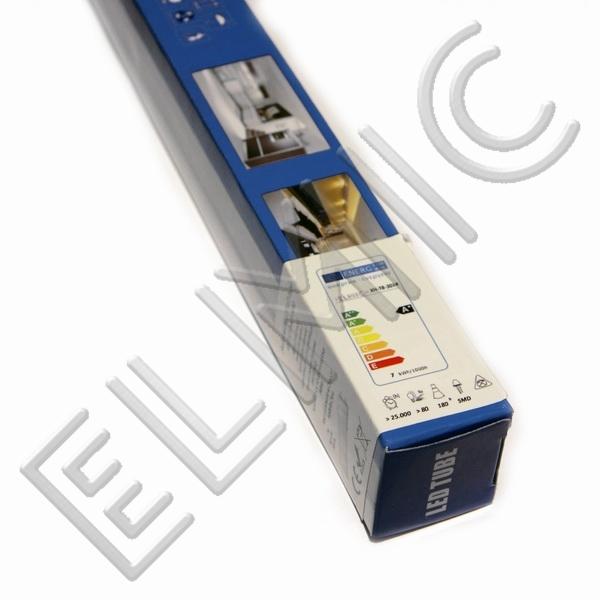 Świetlówka liniowa LED ELMIC LED XH T8 SMD - zamiennik świetlówki fluorescencyjnej - przykładowe opakowanie świetlówki ELMIC