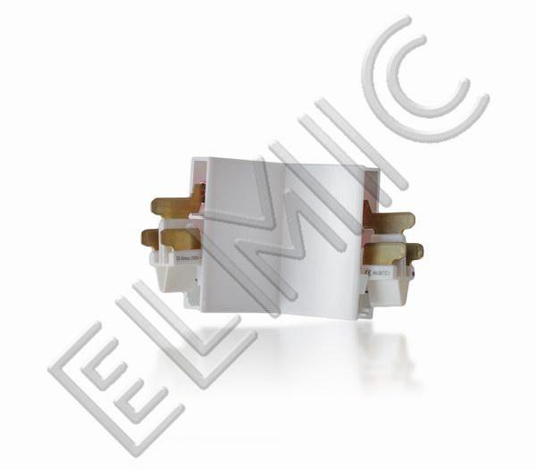 Mainline Power ELMIC Łącznik prosty biały MLICJW