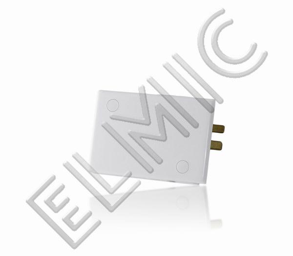 Mainline Power ELMIC Końcówka przyłączeniowa biała MLITLW