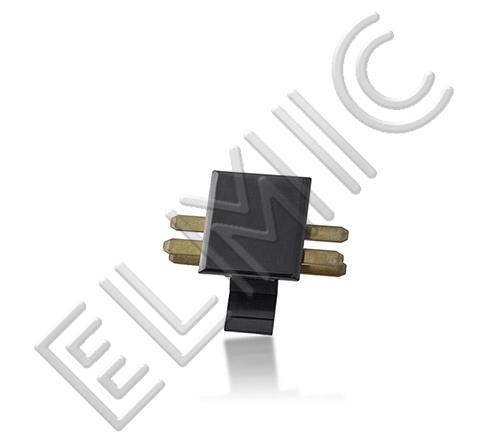 Mainline Power ELMIC Łącznik prosty czarny MLQCSJB