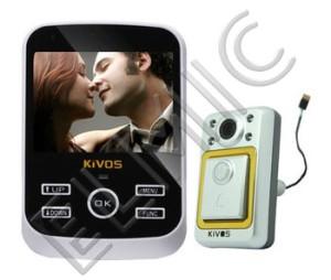 KIVOS KDB 01s - inteligentny dzwonek do drzwi, wideo dzwonek