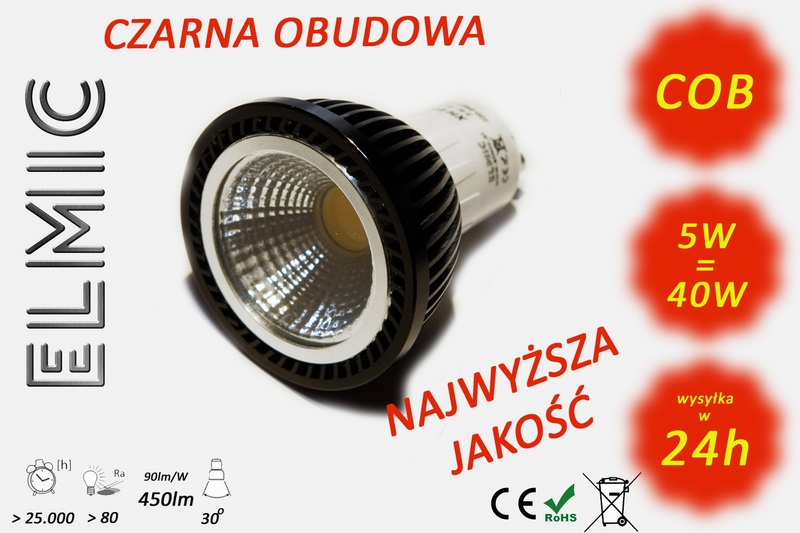 Żarówka Spotlight ELMIC LED XH6625 GU10